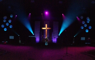 Abundant Life Church Stage