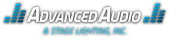 Advanced Audio and Stage Lighting Logo