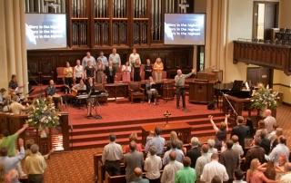 First Presbyterian Church Stage