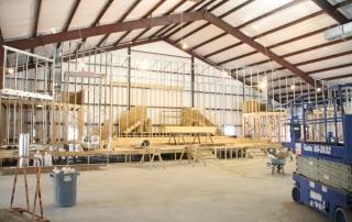 Fundamental Baptist Church in Construction