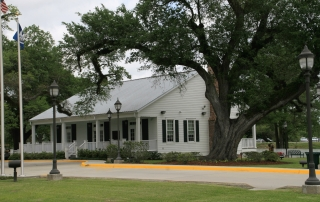 Iberville Parish Visitor Center Outside