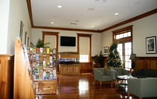 Iberville Parish Welcome Center Interior