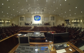 Live Oak Methodist Church FOH and Lights