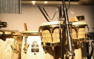 Percussion Set Up