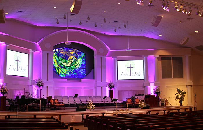Live Oak Methodist: Church Sound Systems