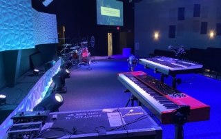 The Journey Church side stage